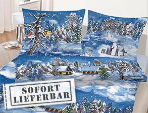 weihnachts bettw sche f r die kalten monate des jahres. Black Bedroom Furniture Sets. Home Design Ideas