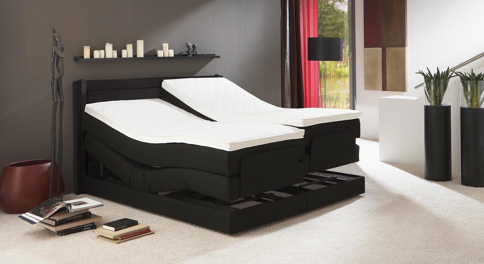 Schlafzimmer mit boxspringbett – midir