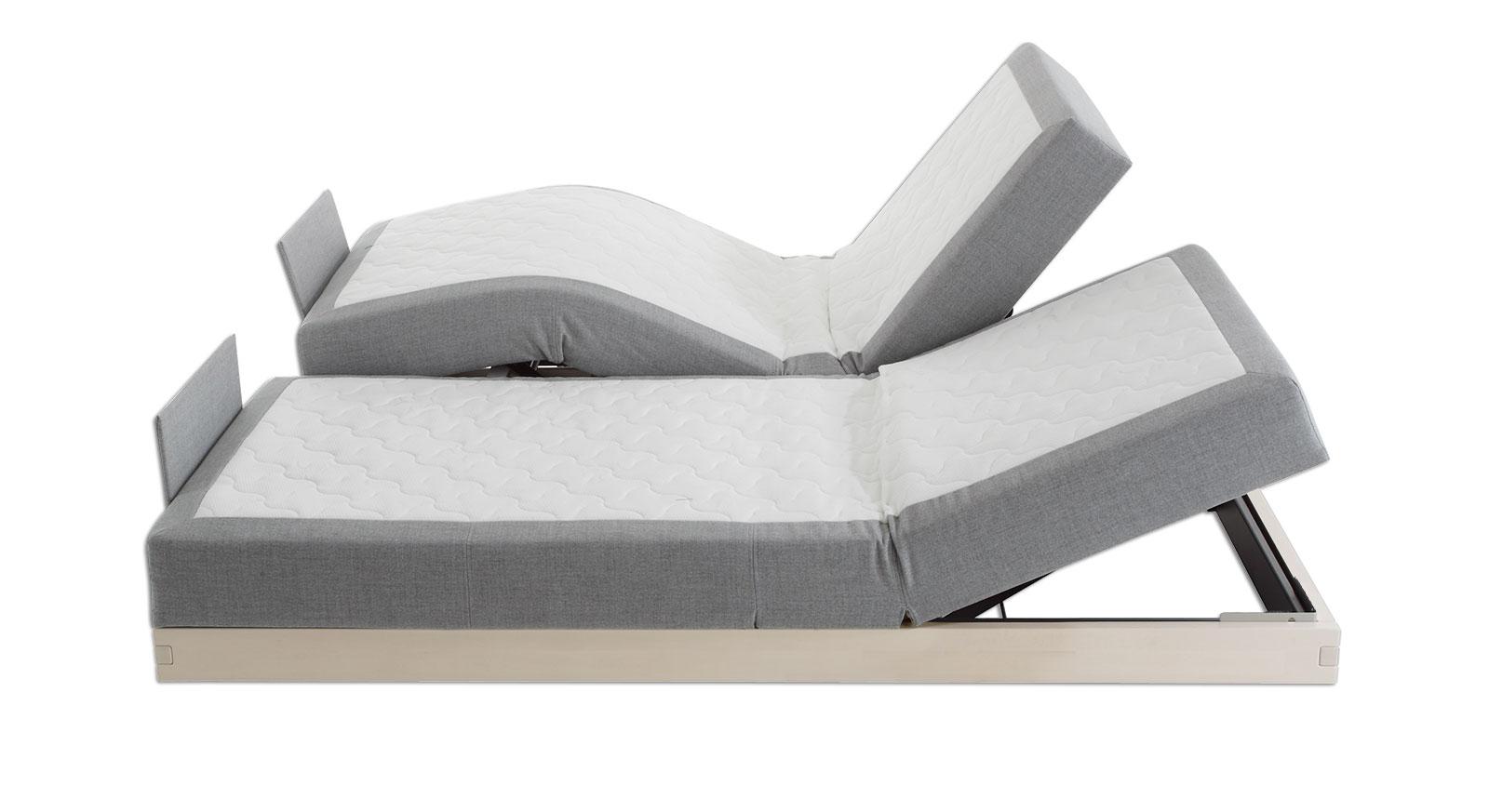 Boxspringbett mit 4-Zonen-Elektro-Verstellung