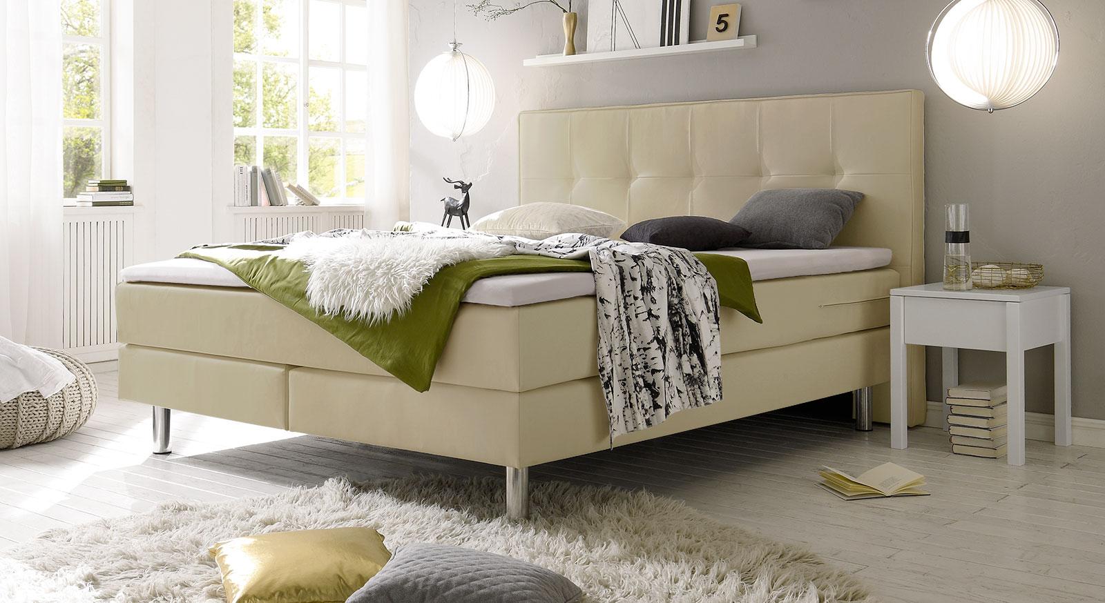 boxspringbett mit schneller lieferzeit inklusive topper berea. Black Bedroom Furniture Sets. Home Design Ideas