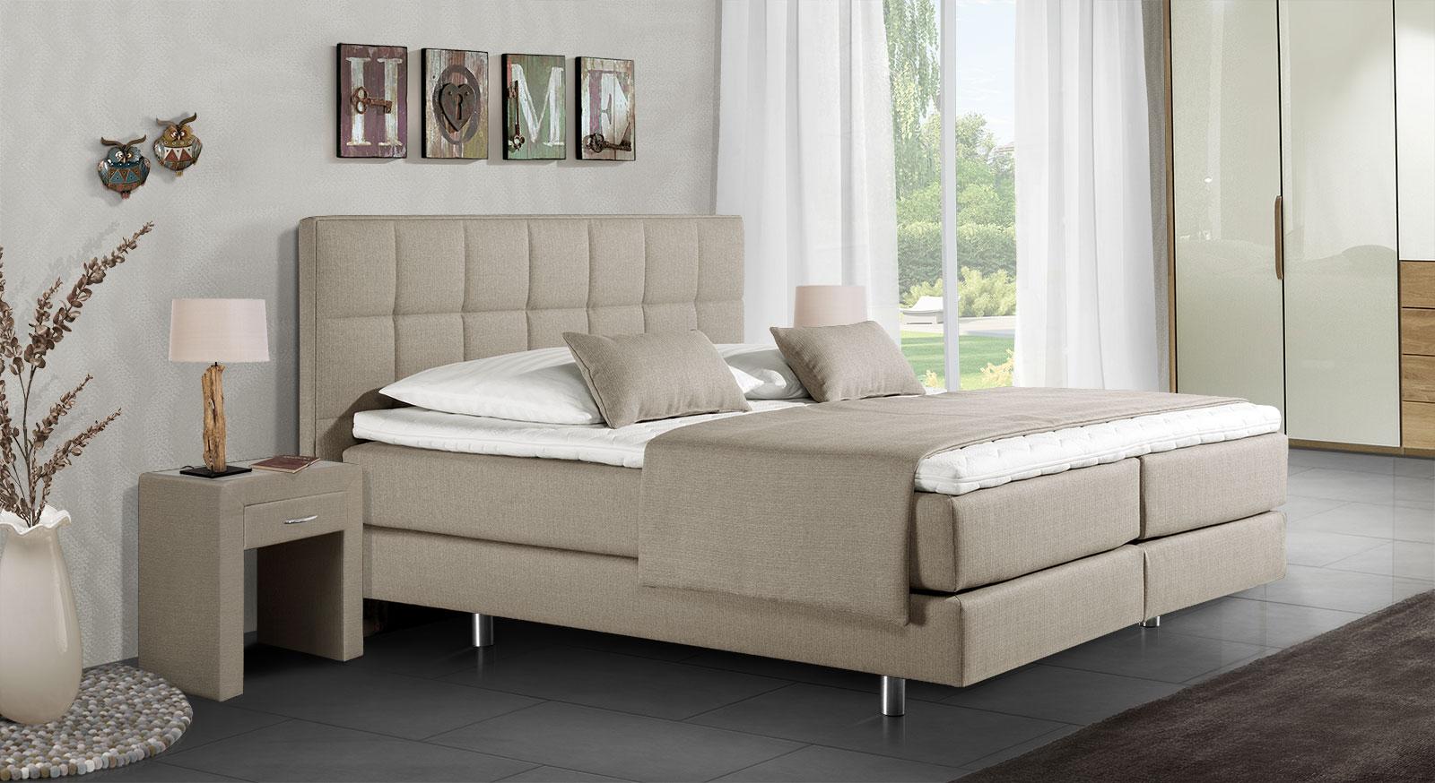 boxspringbett design. Black Bedroom Furniture Sets. Home Design Ideas