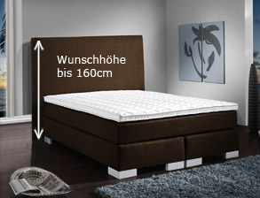 boxspringbetten in berl nge und bergr en auf. Black Bedroom Furniture Sets. Home Design Ideas