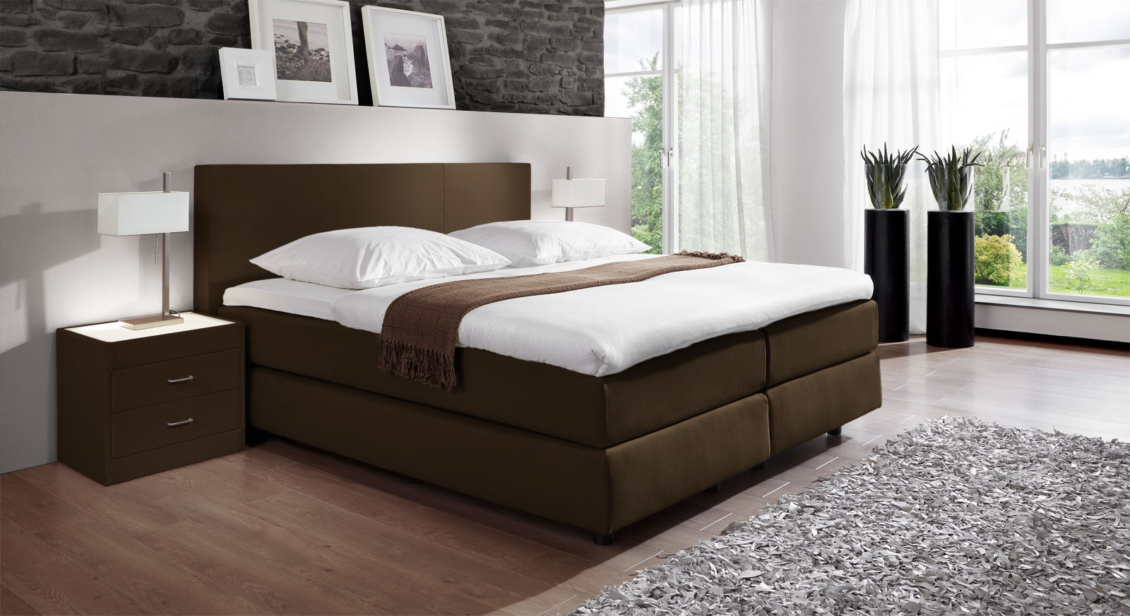 unser luxus boxspringbett cannes online kaufen. Black Bedroom Furniture Sets. Home Design Ideas