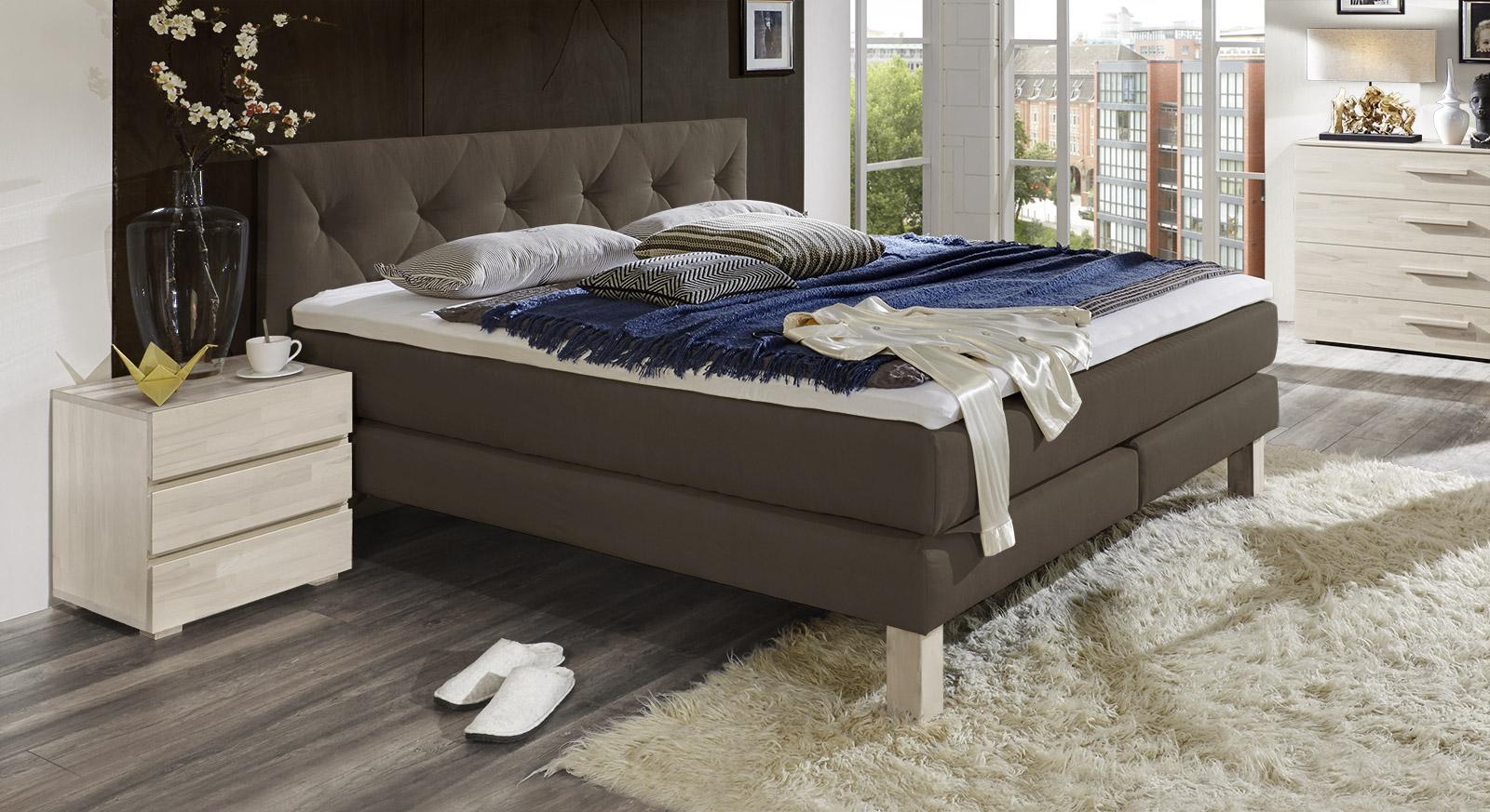 zur ck startseite betten boxspringbetten boxspringbett cantabria. Black Bedroom Furniture Sets. Home Design Ideas
