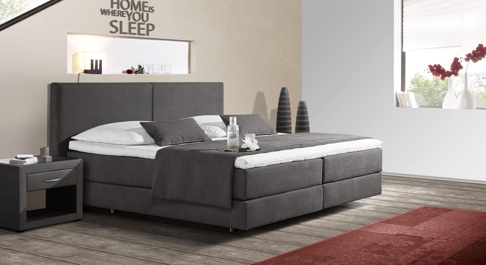 best boxspringbett ratgeber vorteile fragen beantwortet contemporary house design ideas. Black Bedroom Furniture Sets. Home Design Ideas