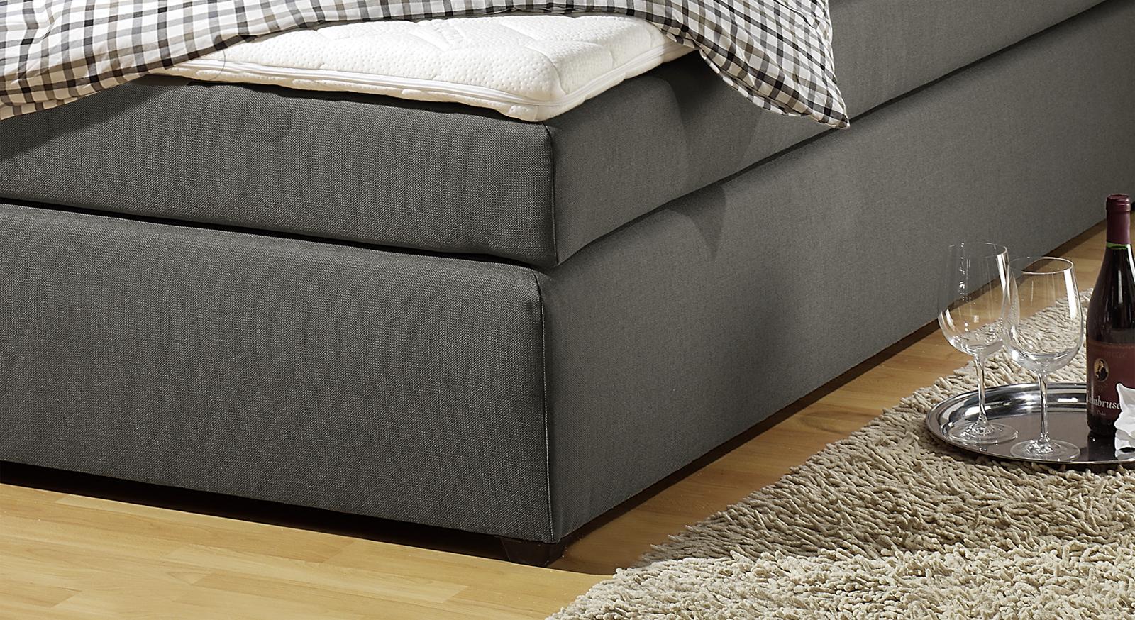 boxspringbett in h3 bis 130kg k rpergewicht chicago. Black Bedroom Furniture Sets. Home Design Ideas
