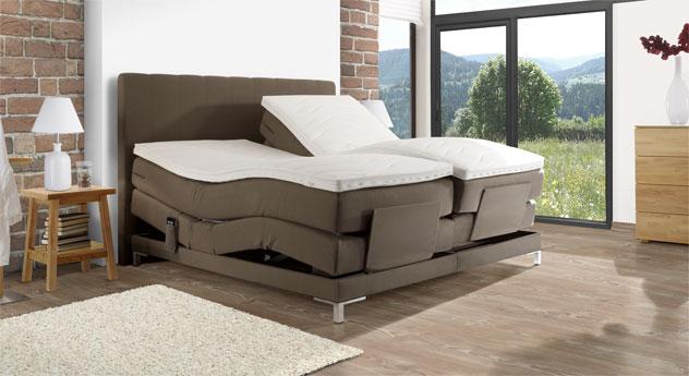 elektrisch verstellbares boxspringbett bis 120 kg denton. Black Bedroom Furniture Sets. Home Design Ideas