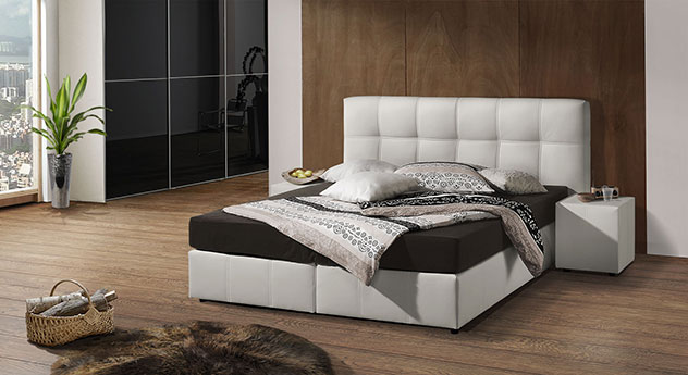 g nstiges boxspringbett in z b 140x200 cm kaufen dorida. Black Bedroom Furniture Sets. Home Design Ideas