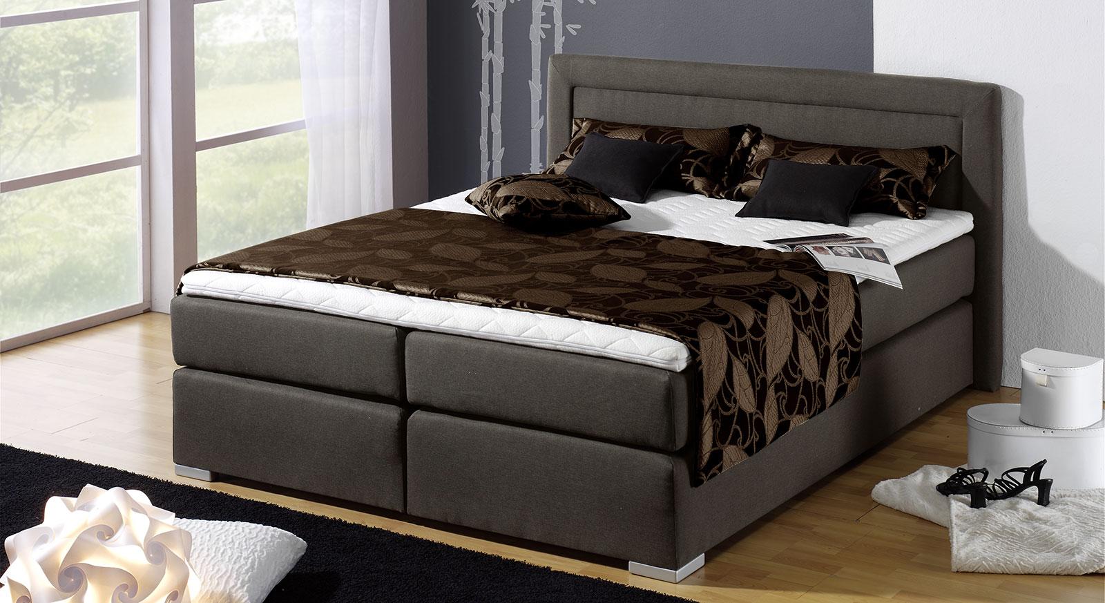 boxspring bett g nstig kaufen bei. Black Bedroom Furniture Sets. Home Design Ideas