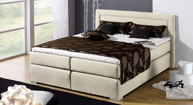 boxspring bett g nstig kaufen bei boxspringbett houston. Black Bedroom Furniture Sets. Home Design Ideas
