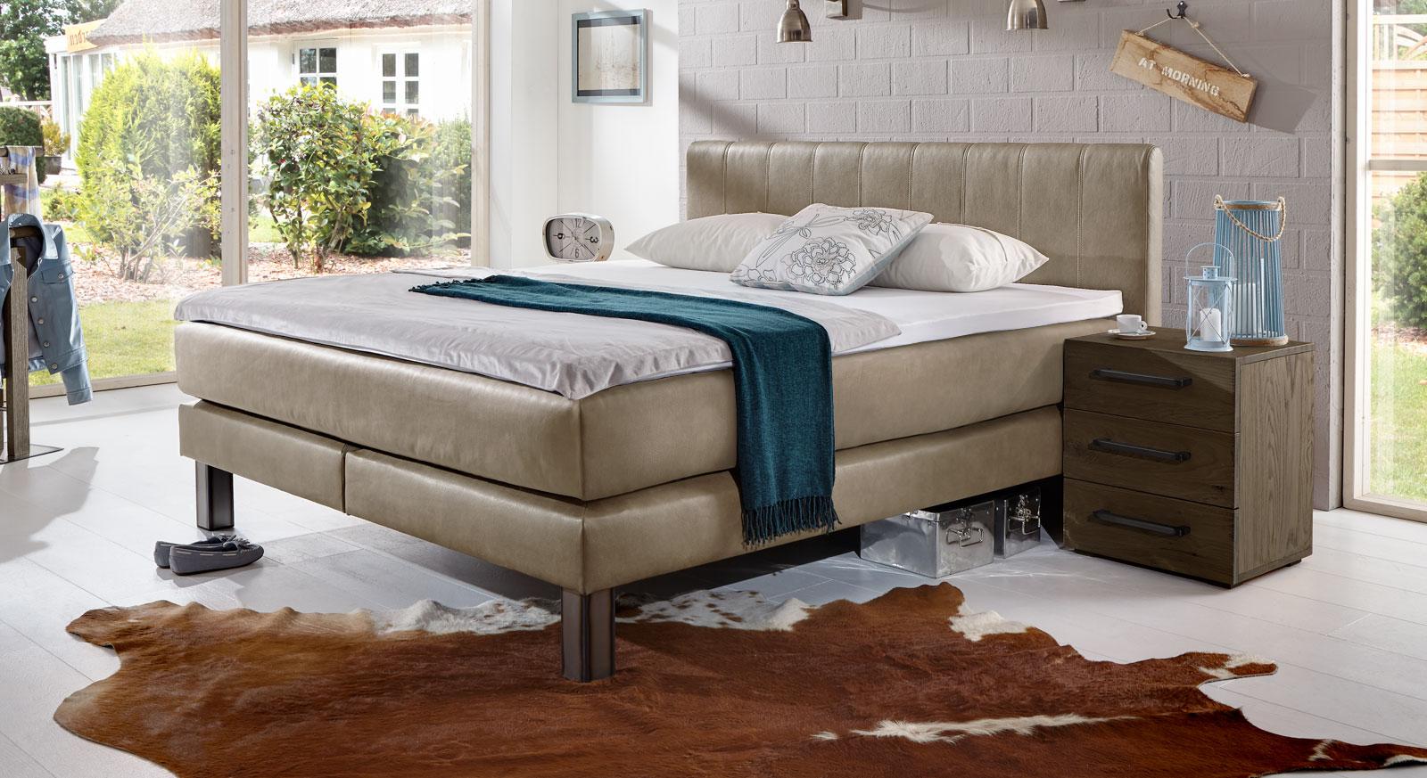 boxspringbett design luxus. Black Bedroom Furniture Sets. Home Design Ideas