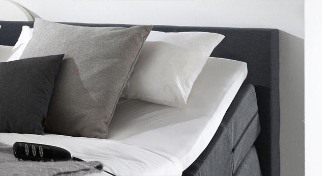 elektrisch verstellbares boxspringbett lanark. Black Bedroom Furniture Sets. Home Design Ideas