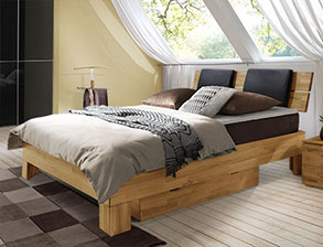ein sch nes bett in 120x200 cm auf rechnung kaufen. Black Bedroom Furniture Sets. Home Design Ideas