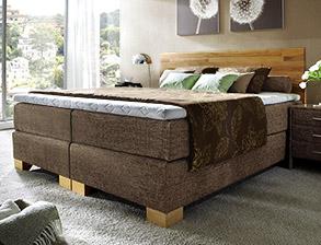 boxspringbett 140 200 holz. Black Bedroom Furniture Sets. Home Design Ideas