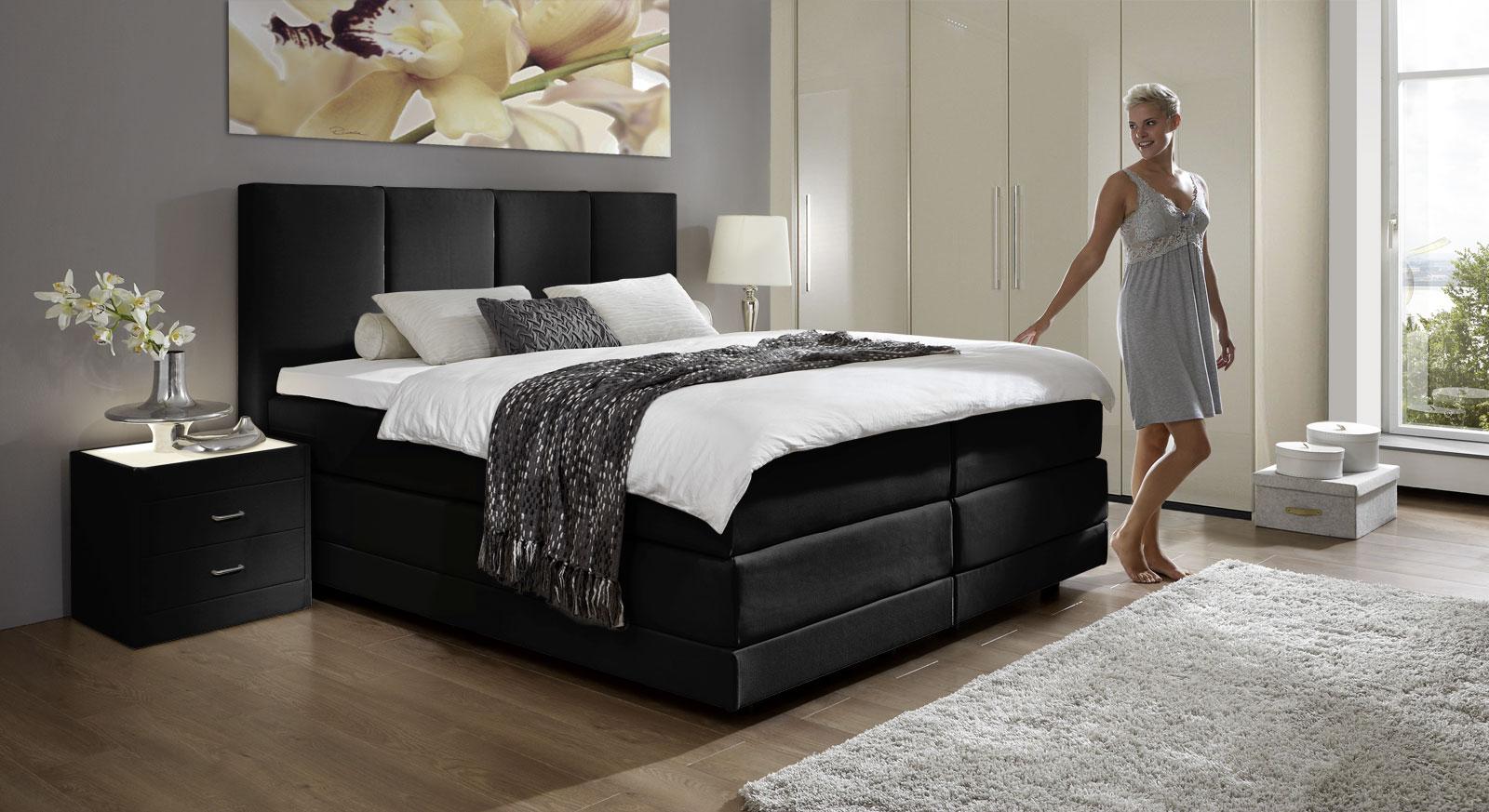 Schlafzimmer Betten 200x200: Schlafzimmer Bett x Wohnmöbel Referenz ...