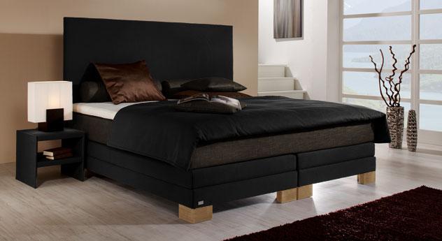 ... mit anthrazitfarbener matratze passt perfekt in jedes schlafzimmer
