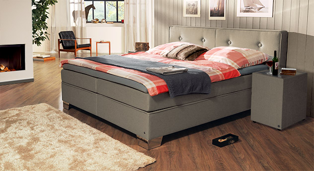 Nachttisch Tom Tailor Soft mit passendem Produkt Boxspringbett Tom Tailor Soft