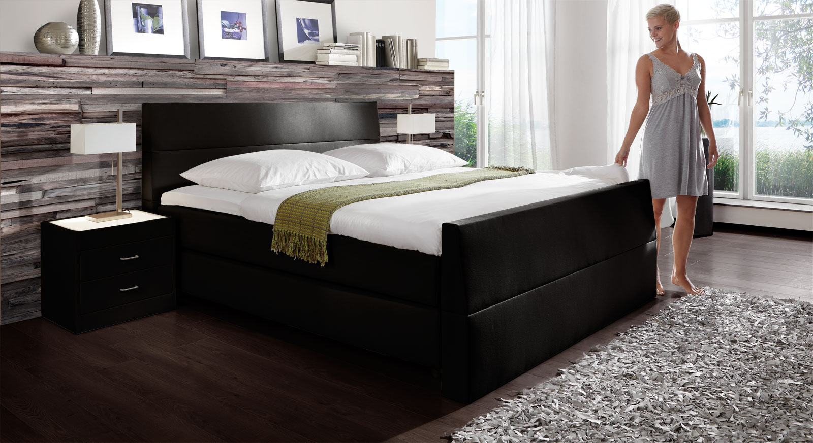 schlafzimmer gestalten farbe gelb. Black Bedroom Furniture Sets. Home Design Ideas