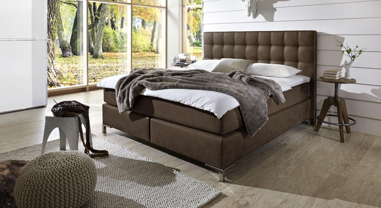 boxspringbett luxus. Black Bedroom Furniture Sets. Home Design Ideas