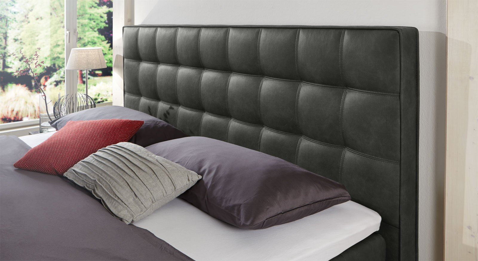 boxspringbett motorisiert in 180x200 cm zamora elektro. Black Bedroom Furniture Sets. Home Design Ideas