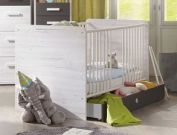 Babybett Mereto optional umbaubar zum Juniorbett