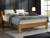 Boxspringbett Kingston aus Eiche-Massivholz