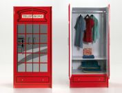 Robuster Kinder-Kleiderschrank Paddington