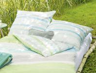 kuscheldecke mit streifen in gr n und t rkis meadow. Black Bedroom Furniture Sets. Home Design Ideas