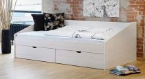 bett mit schubk sten in der gr e 180x200cm finnland. Black Bedroom Furniture Sets. Home Design Ideas