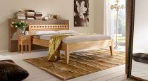 holzbett aus massiver buche in z b 160x200 cm leonardo. Black Bedroom Furniture Sets. Home Design Ideas