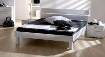 design bett black white auf rechnung bestellbar. Black Bedroom Furniture Sets. Home Design Ideas