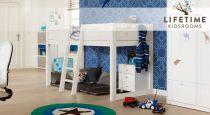 mitwachsendes kinderbett aus holz von lifetime 4 in 1. Black Bedroom Furniture Sets. Home Design Ideas