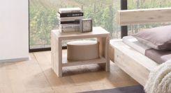 tiefer nachttisch aus buche natur bergamo. Black Bedroom Furniture Sets. Home Design Ideas