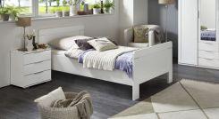 h heres bett f r senioren in modernem tr ffeleiche dekor. Black Bedroom Furniture Sets. Home Design Ideas