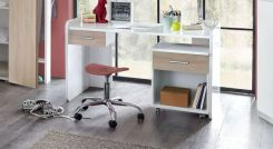 kinderschreibtisch h henverstellbar mit schublade zagra. Black Bedroom Furniture Sets. Home Design Ideas