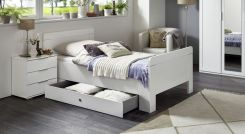 h heres bett f r senioren in modernem tr ffeleiche dekor troia. Black Bedroom Furniture Sets. Home Design Ideas