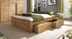 einzelbett in z b 100x200 cm mit schubladen in wei mocuba. Black Bedroom Furniture Sets. Home Design Ideas