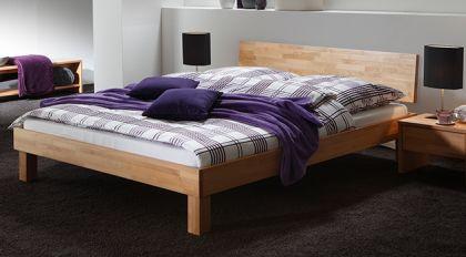 Stabiles Bett Costa Rica aus Eichenholz bestellen