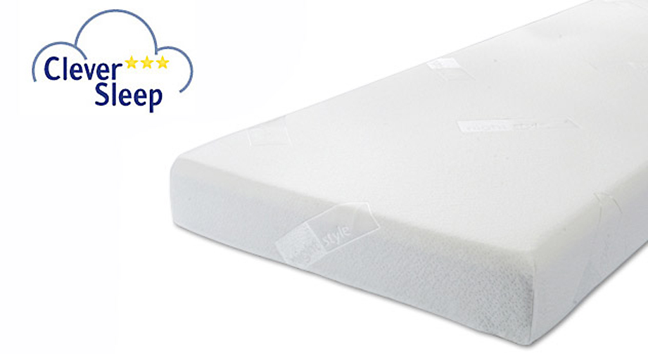 Visco-Matratze Clever Sleep Pur Kombi-Kern