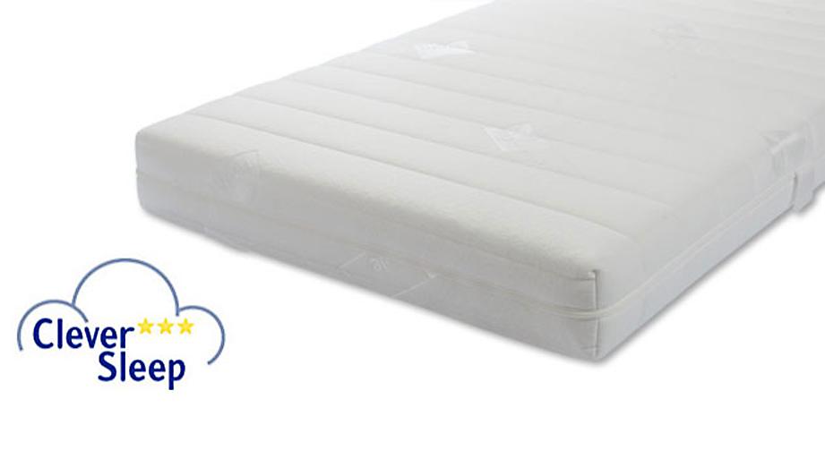 Kaltschaum-Matratze Clever Sleep Standard Allergiker