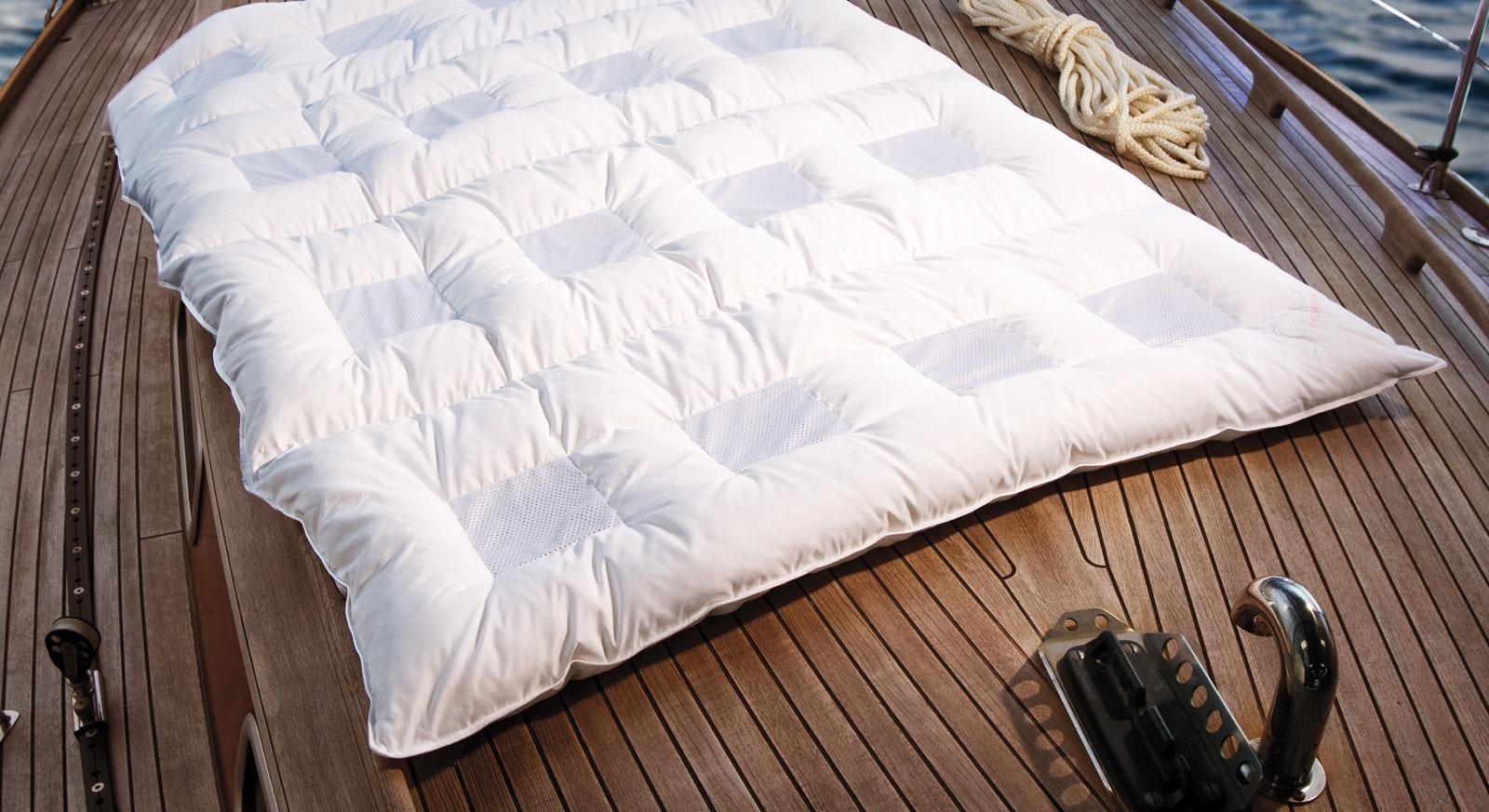 Daunen Bettdecke Clima Balance Comfort Medium 220