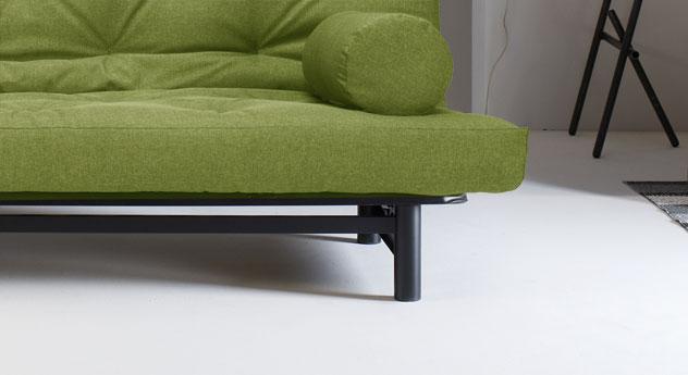 Couch Del Mar mit robustem Gestell aus Stahl