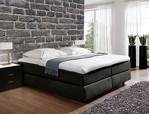 boxspringbetten ohne kopfteil g nstig kaufen. Black Bedroom Furniture Sets. Home Design Ideas