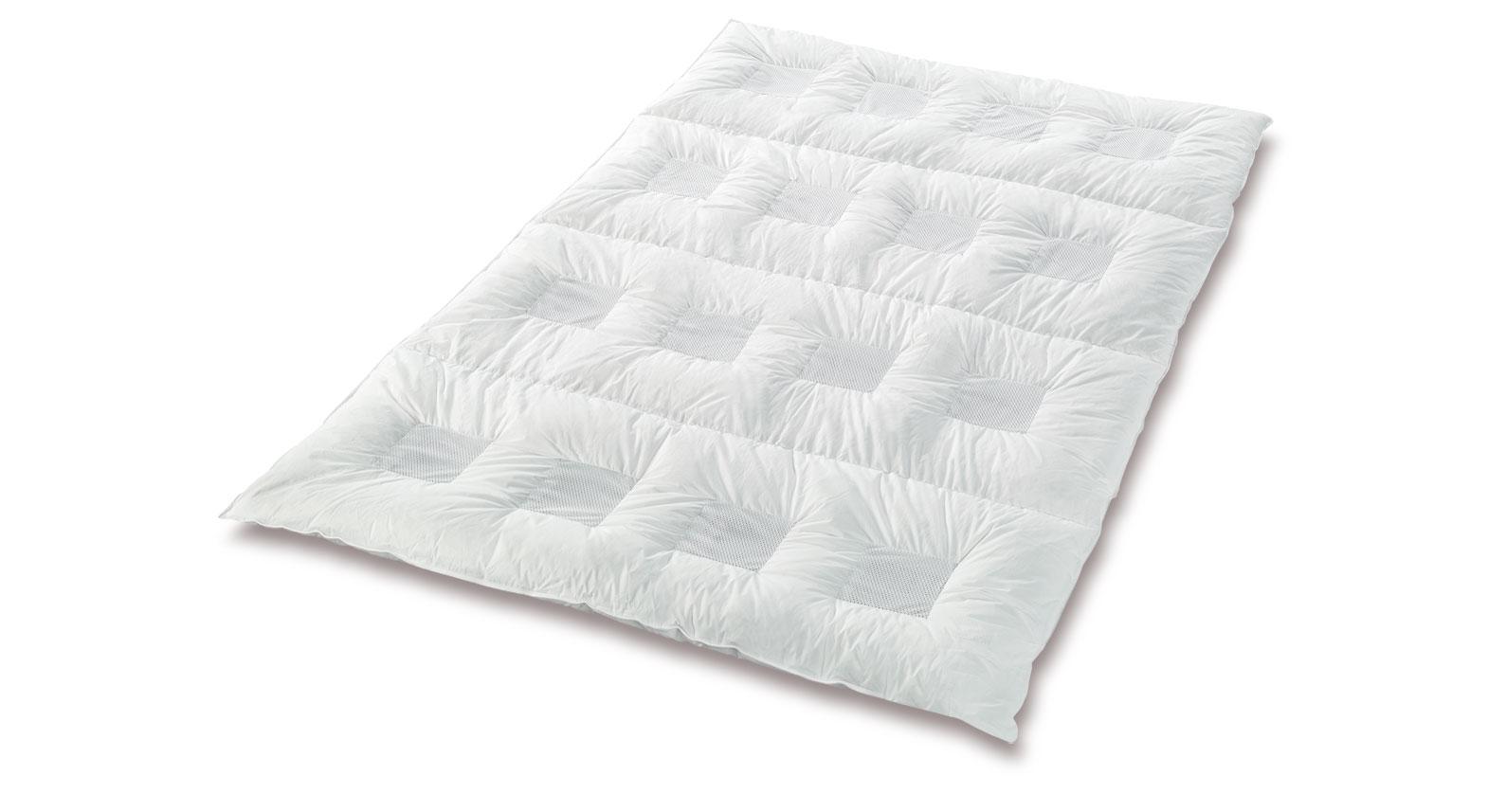 daunen Bettdecke clima-balance premium medium hochwertig