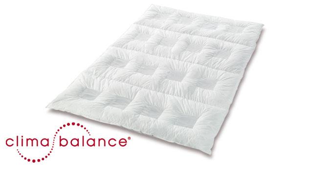 waschbare daunen bettdecke clima balance premium medium. Black Bedroom Furniture Sets. Home Design Ideas