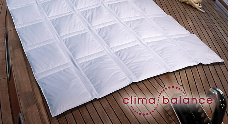 Daunen-Bettdecke clima balance classic light 4 Klimazonen