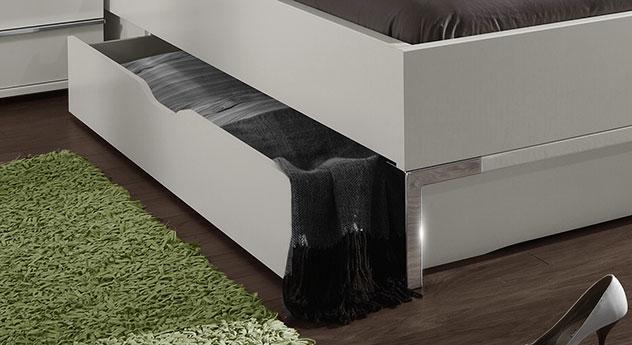 Doppelbett Salford mit Schubkasten für Stauraum