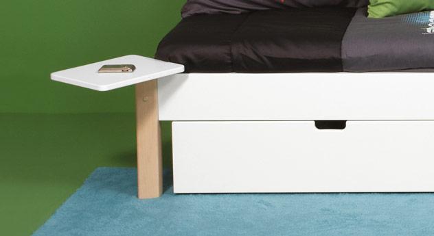 nachttisch mit um 360 grad drehbarer ablagefl che kids town. Black Bedroom Furniture Sets. Home Design Ideas