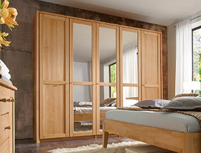 komplett-schlafzimmer aus massiver buche - triest i betten.de, Hause deko