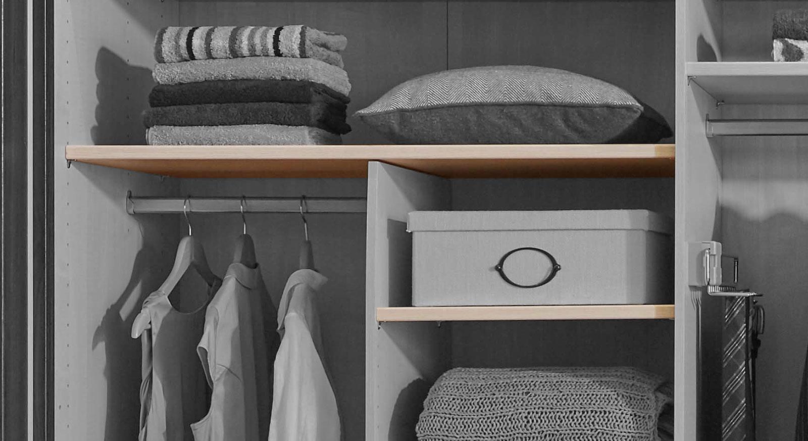 Schwebetüren-Kleiderschrank Zubehör Einlegeboden